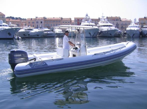 Französische Riviera Wassertaxi