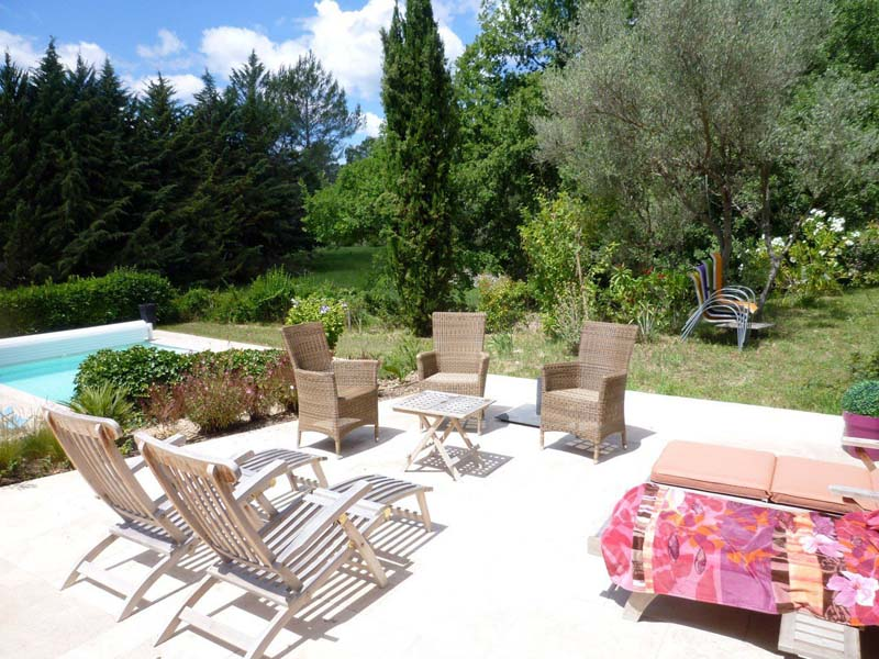 Claviers, 60 km from Cannes villa with pool