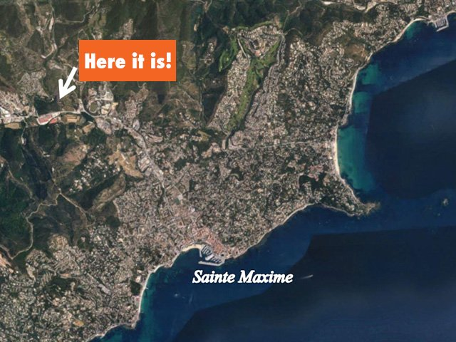 New villa in Sainte Maxime, with garage and garden