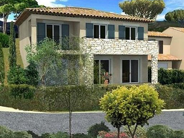 New villa in Sainte Maxime, with garage and garden