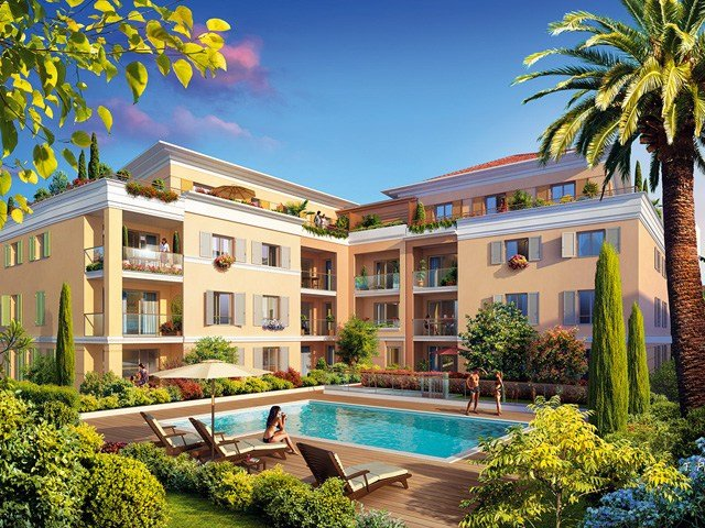 new construction villa and apartments on the French Riviera, Cote Azur for sale