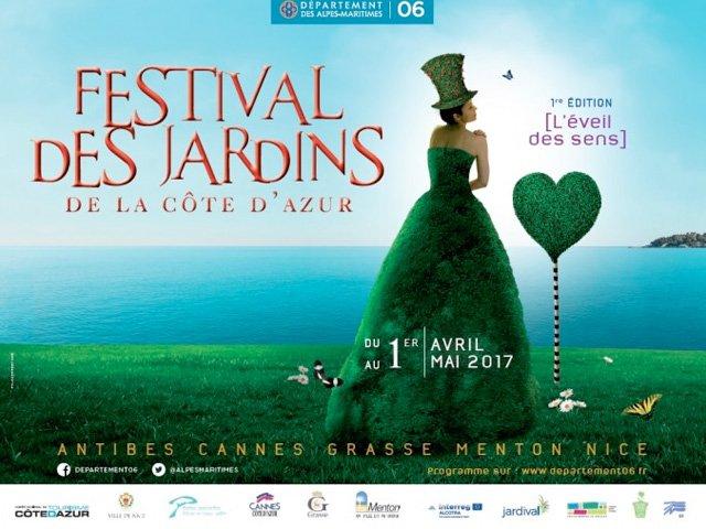 Festival des Jardins; a garden party along the Côte d'Azur