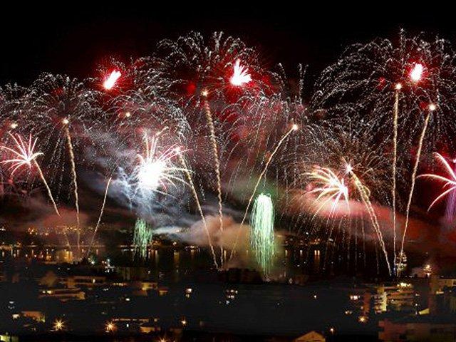 Fireworks Festival 2017 Cannes, Monaco, Antibes Juan les Pins