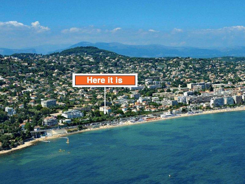 New apartments in intimate seaside resort Golfe Juan