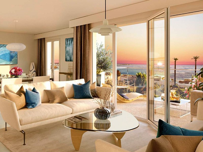 New apartments in intimate seaside resort Golfe Juan