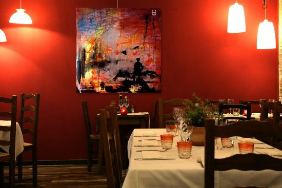 Dining tip: Restaurant Farinelli in Nice.