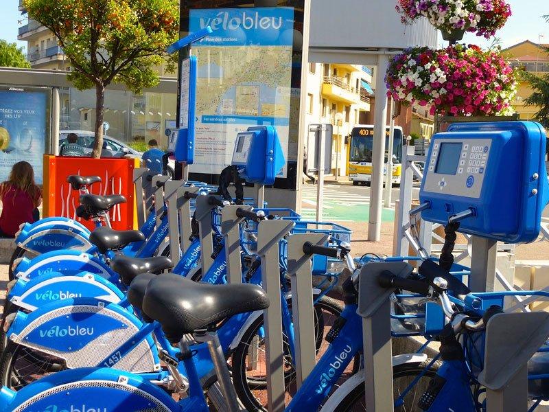 Vélo Bleu