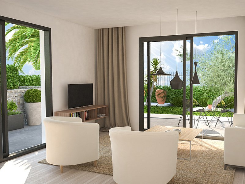 Juan les Pins new apartment 100 meters from the beach