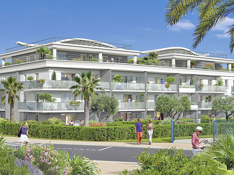 Villeneuve Loubet new apartments close to Marina Bay des Anges