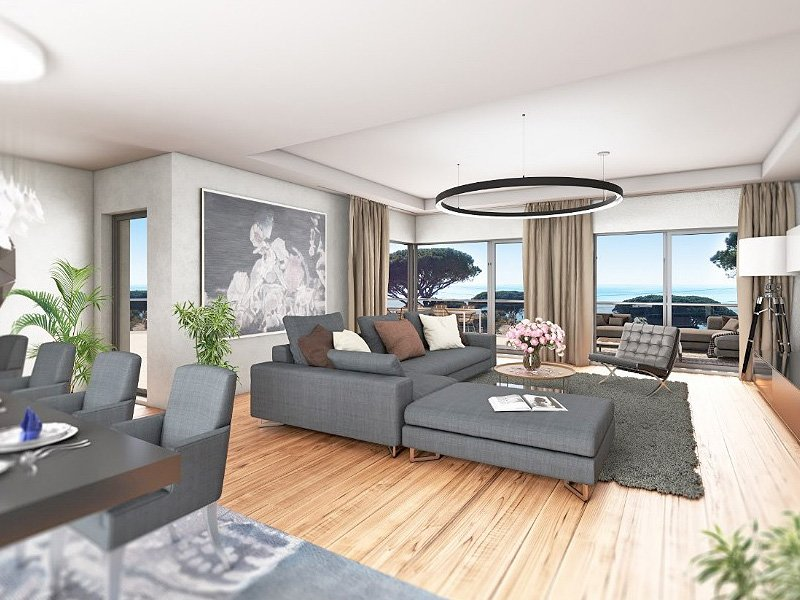 New in Sainte Maxime; living on the beach in style