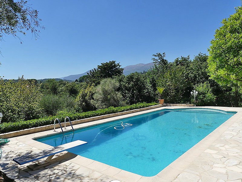 Charming villa Vence Vosgelade with great view on Saint Paul de Vence