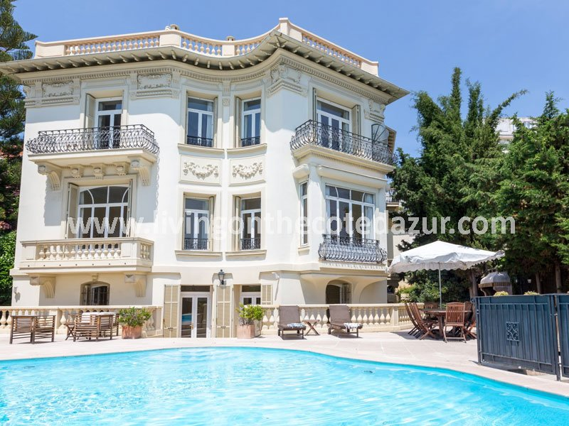 Rare and gorgeous town villa Villefranche sur Mer from 1904
