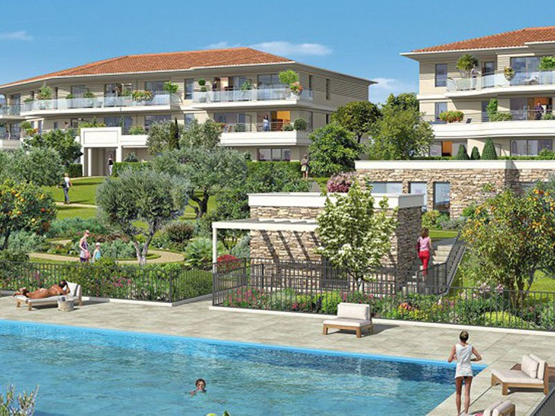 New apartment Roquebrune Cap Martin sea views and pool