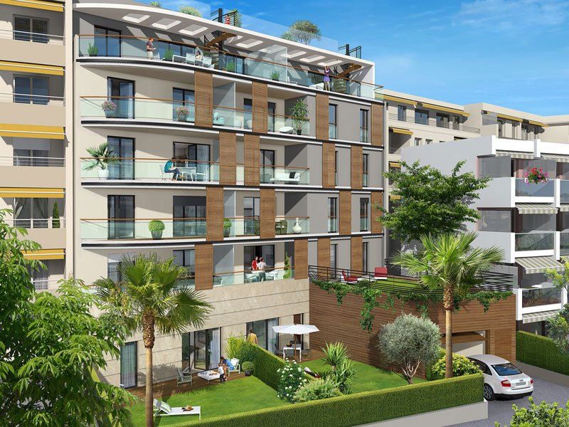 New two bedroom apartment within walking distance of Cap d'Antibes
