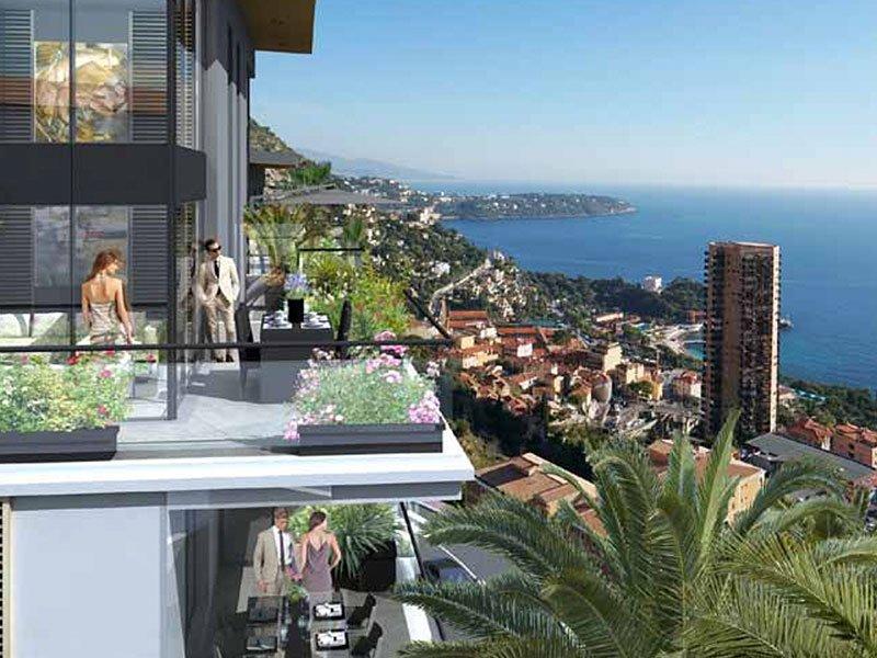 Beausoleil Doppel-Penthouse 7 Schlafzimmer und Super Blick auf Monaco