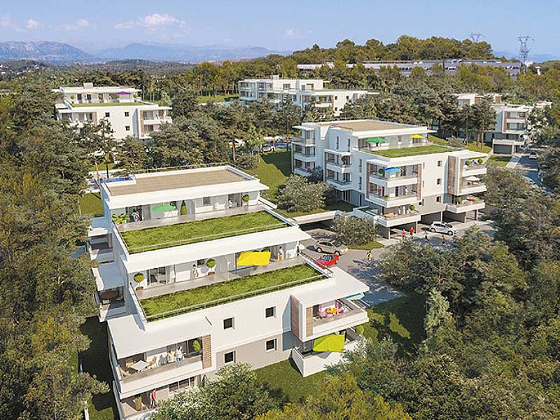 new apartments Biot