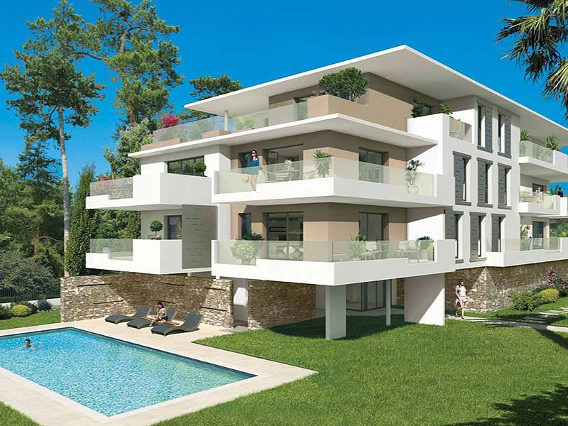 Quiet new apartment with swimming pool Le Cannet