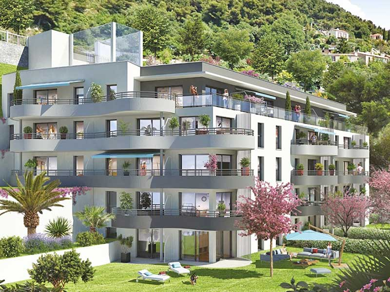 For sale luxury apartments Beausoleil, the gate of Monaco