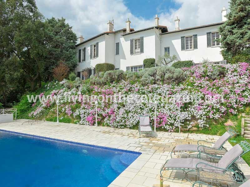 Charming villa 'English style' Mandelieu Capitou