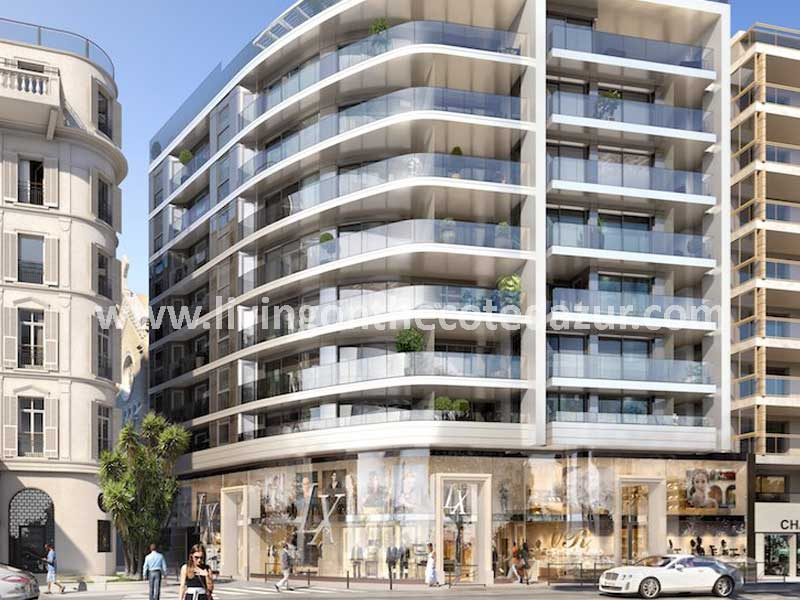 A home on the Croisette is only reserved for the happy few. And these are extra special: at this location, you could never buy a very luxurious new apartment in Cannes before.