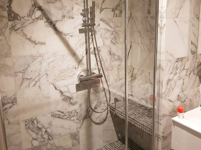 shower, marble,garage, France Renovation, repair and construction work on the Côte d'Azur