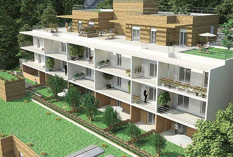 Wonderful in the open nature: new apartments Vence