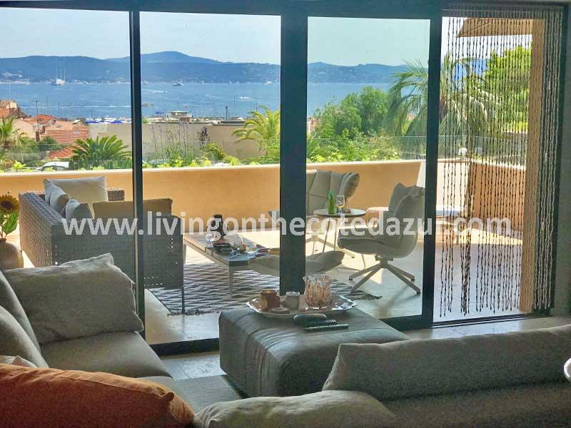 Luxueuse villa appartement avec piscine centre Sainte Maxime