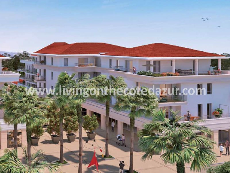 New apartments for sale in new Mandelieu district