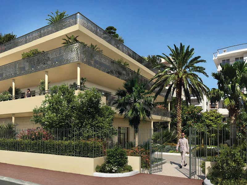 high-quality new construction apartment in Cannes Palm Beach