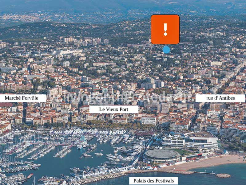 New apartments for sale Cannes Le Cannet, ten minutes from beaches