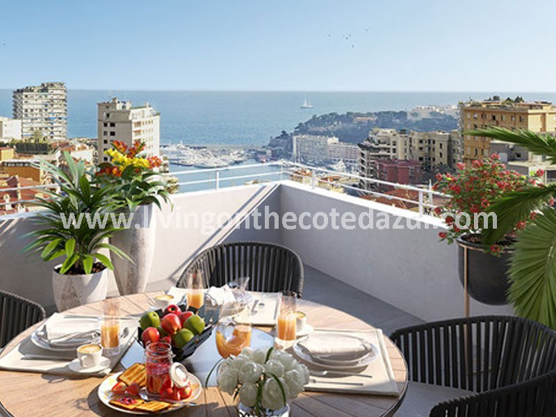 Roquebrune Cap Martin apartments with sea view and pool