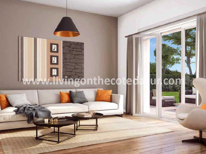 A lovely new apartment in Cagnes sur Mer Val Fleuri