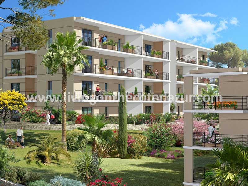 Holiday paradise in new build Vallauris Golfe Juan