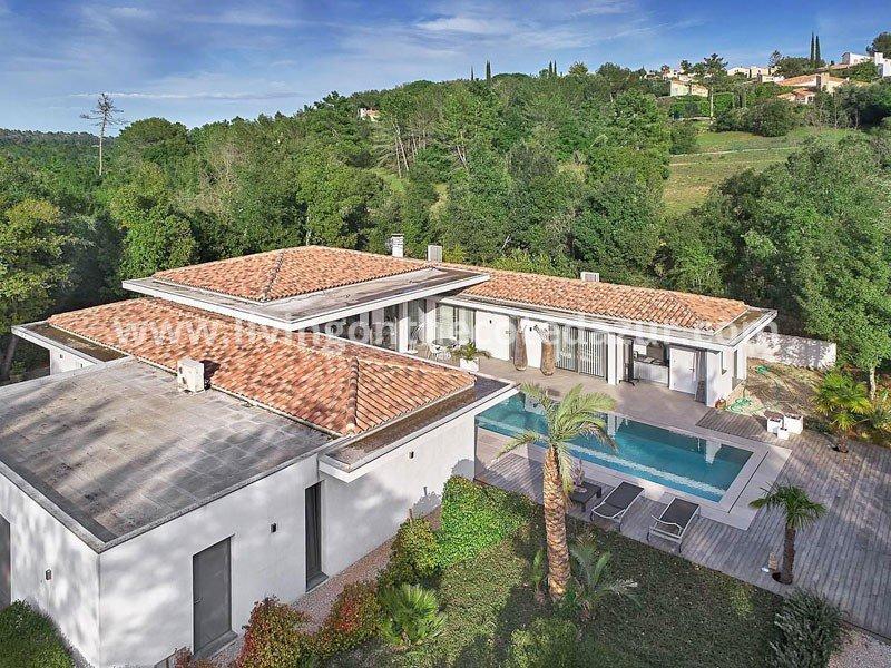 Valbonne: new California style villa for sale