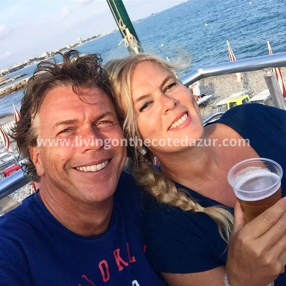 Ab en Jolanda Kuijer in Zuid Frankrijk