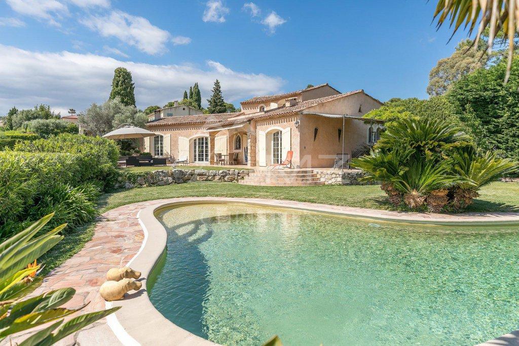 Close To Cannes U2013 Beautiful Provencal Villa With Sea View