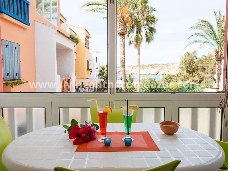 Holiday apartments for sale in Cala Vadella, Ibiza