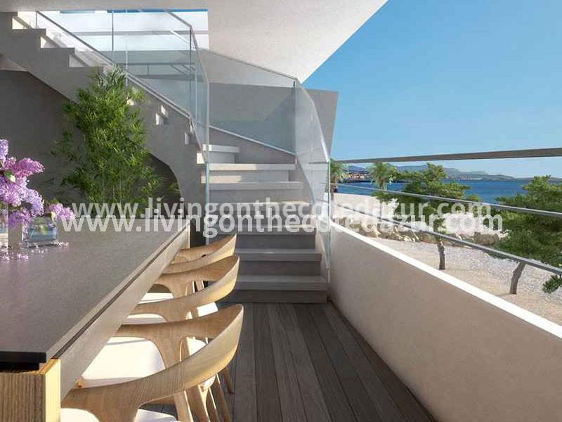 New Apartment Directly On The Sea Villeneuve Loubet