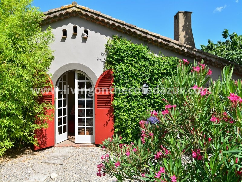 Renovated stone bastide in Mougins