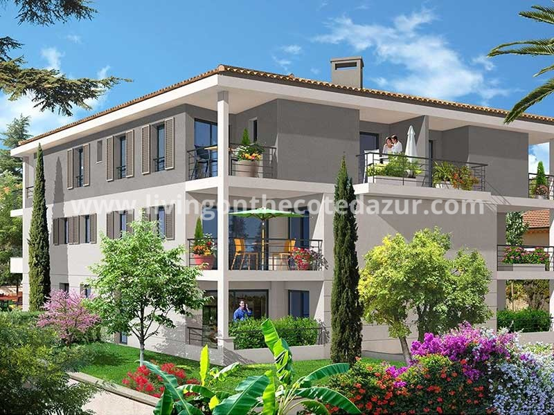 Newly built apartment in Golfe Juan close to port and beach