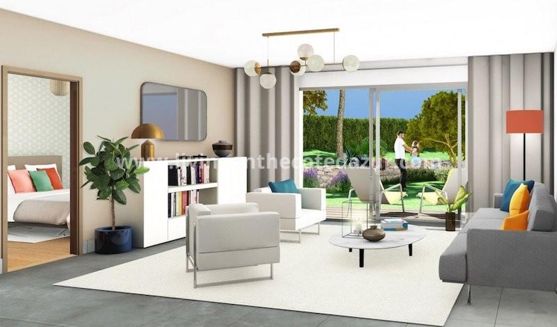 New villa in small domain center Sainte Maxime