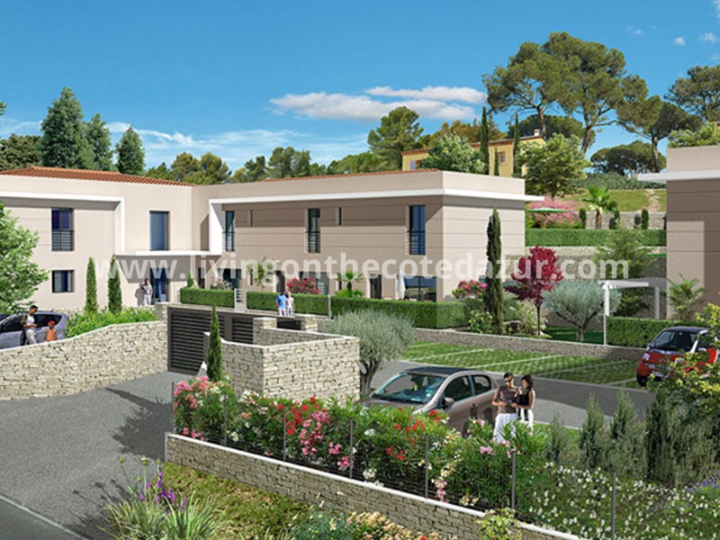 Valbonne new apartment in private park surrounded by 3 golfresorts