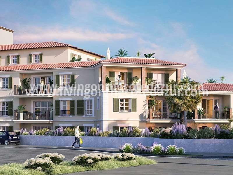 Luxury new apartment in Sainte Maxime Pléiade