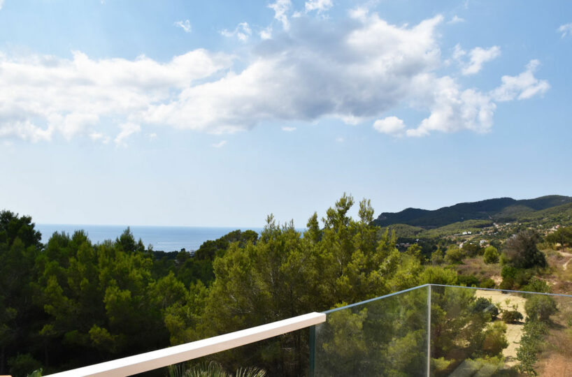 Lovely duplex house with open views - Es Cubells, Ibiza