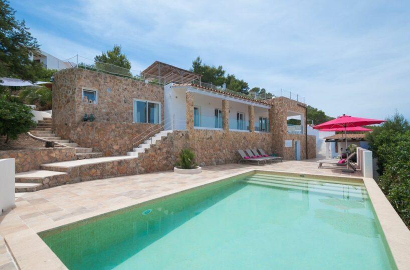 Renovated 5 bed villa with great sea views - Cala Bassa, Ibiza
