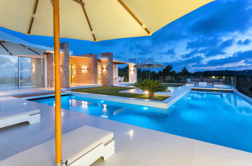 New contemporary villa - Cala Conta, Ibiza