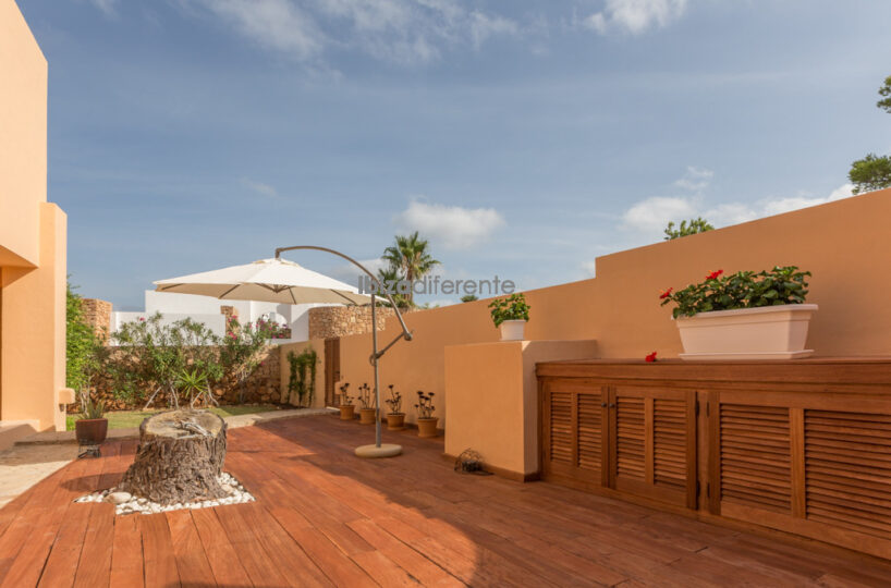 Two bed villa with pool and sea view- Cala d'en Reial, Ibiza