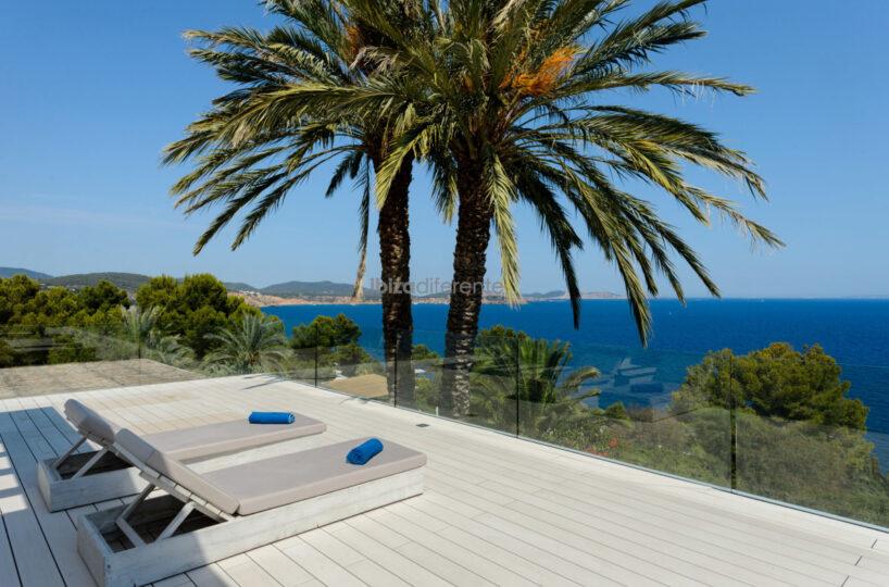 Luxury villa with sea views to Formentera - Es Cubells, Ibiza
