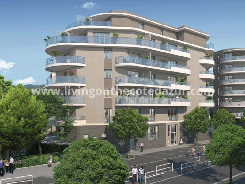 Affordable new apartments Nice Saint Roch with open views