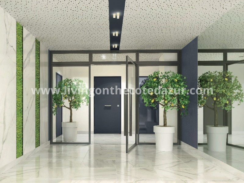 Stylish new apartment with pool in Nice Cimiez
